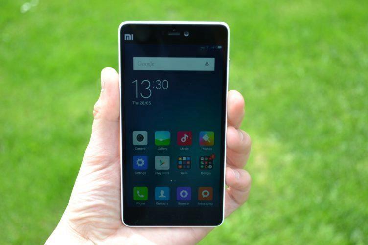 Xiaomi Mi4i - displej telefonu