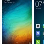 Xiaomi Mi4i –  prostředí systému,  téma