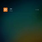Xiaomi Mi4i –  prostředí systému,  zamykací obrazovka (1)