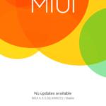 Xiaomi Mi4i –  verze systému MIUI (2)