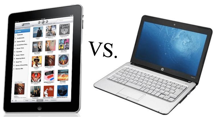 dnešní tablety vs notebook