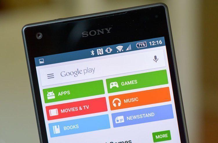 Google Play - aktualizován