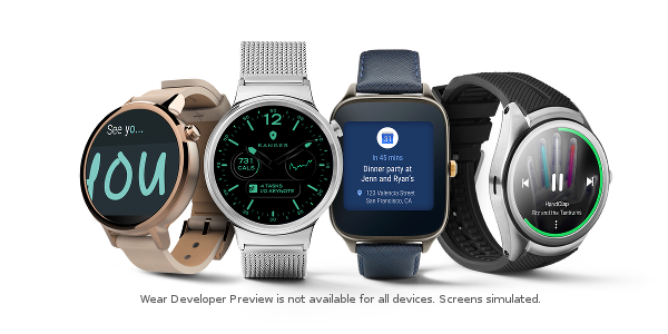 U platformy Android Wear Google omezuje výrobce v rozletu