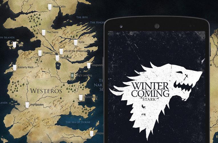 hra o trůny game of thrones aplikace