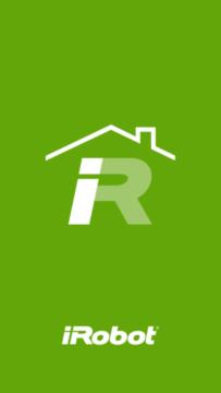 iRobot Home – úvodní obrazovka