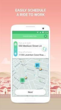 Objednat spolujízdu lze přes aplikaci Rider