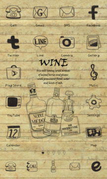 wine icon theme
