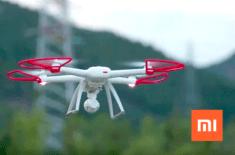xiaomi mi drone v akci