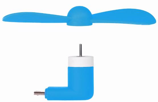 zboží - větráček do MicroUSB