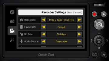 Recorder Settings