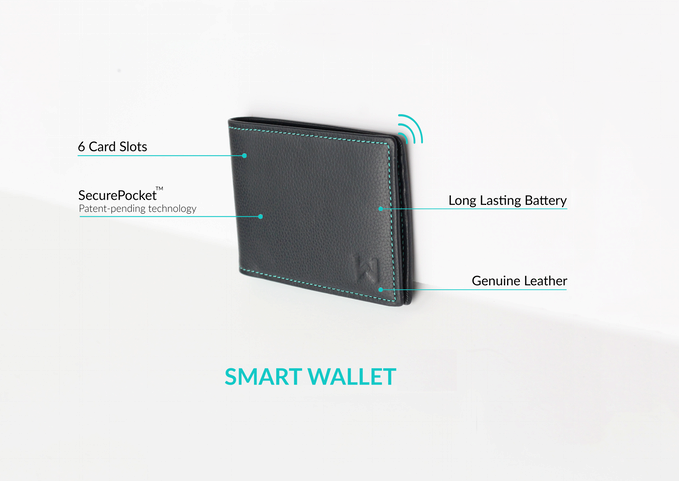 Chytrá peněženka Walli