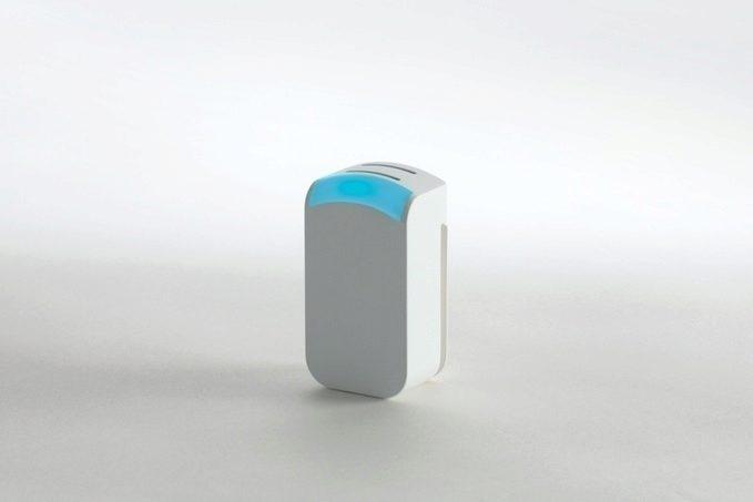 Senzor indikuje míru znečištění