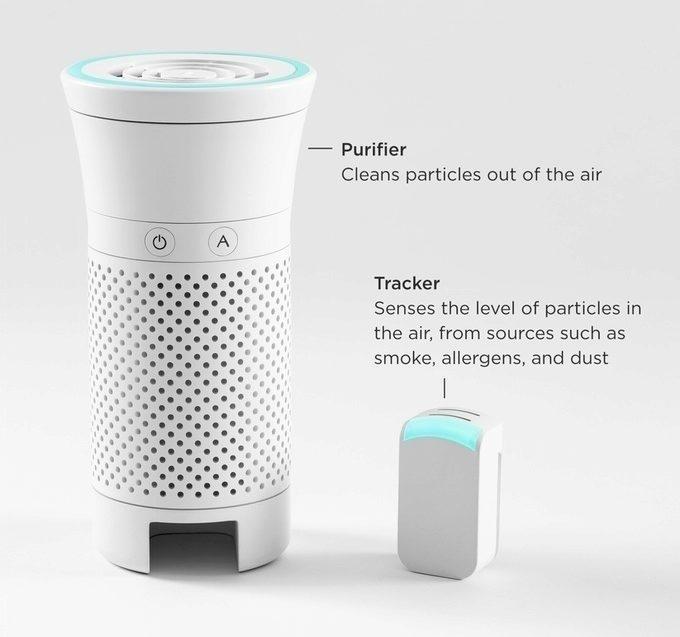 Wynd: čistička vzduchu a senzor znečištění