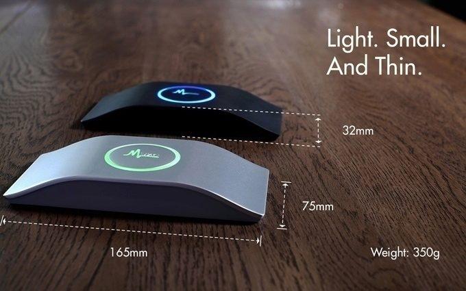 Gadget je kompaktní a přenosný