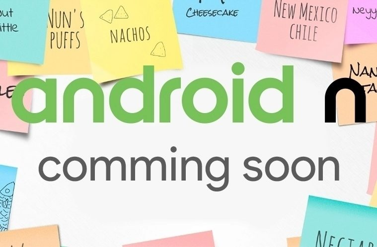 Android N – hlasování o jménu – náhleďák