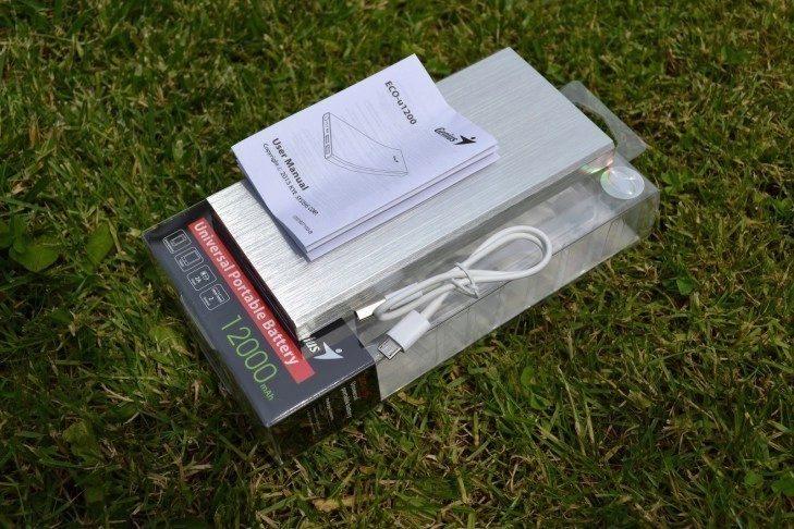Genius ECO-u1200 -  obsah balení