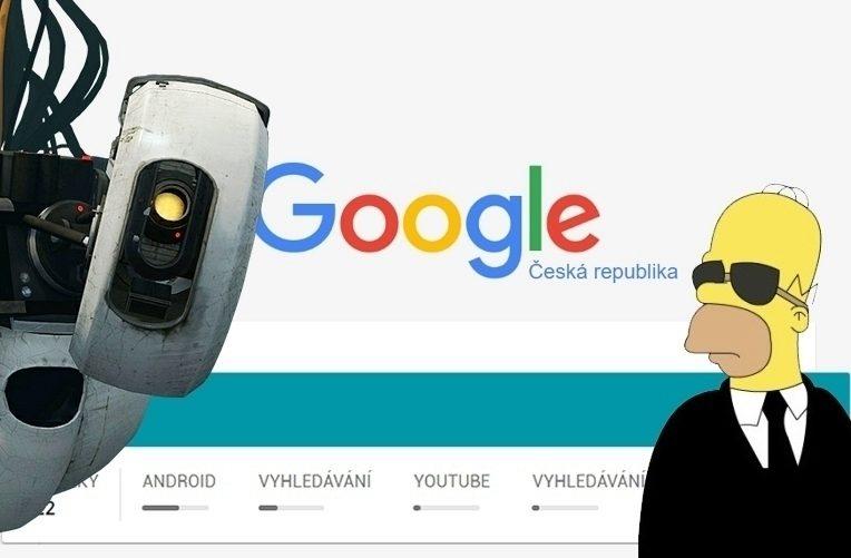 Google Moje AKtivita – náhleďák