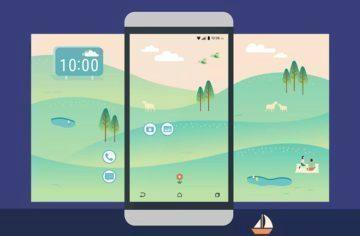 HTC Launcher - náhleďák