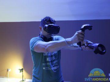 HTC Vive – headset, hraní 2