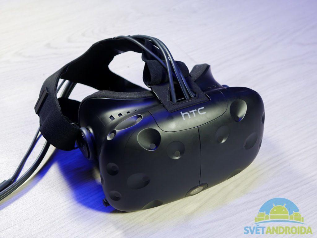 HTC Vive - konstrukce, headset