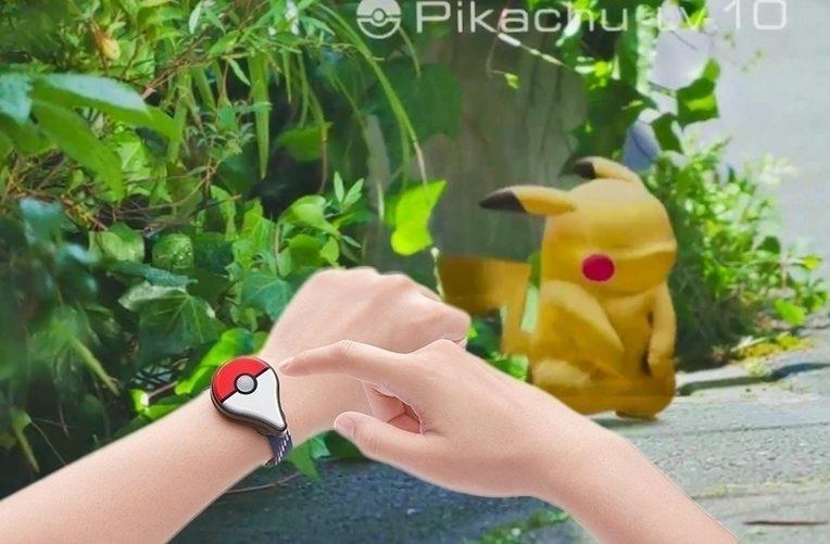 Pokémon Go Plus – příslušenství – náhleďák