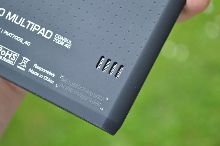 Prestigio MultiPad Consul 7008 4G -  hlasitý reproduktor (2)