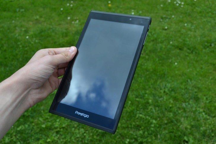 Prestigio MultiPad Consul 7008 4G -  konstrukce, přední strana (2)