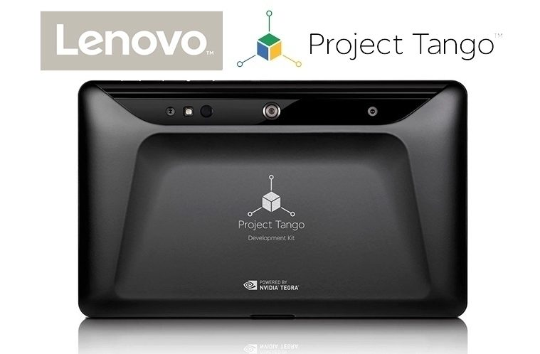 Project Tango – Lenovo TechWorld – náhleďák