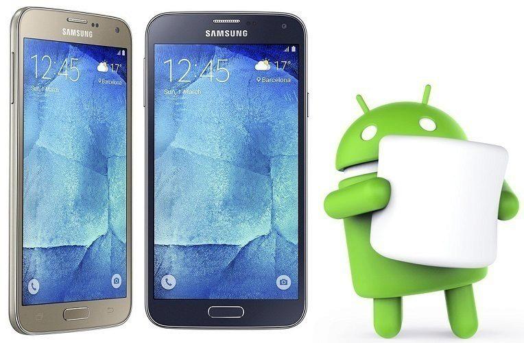 Samsung Galaxy S5 neo marshmallow