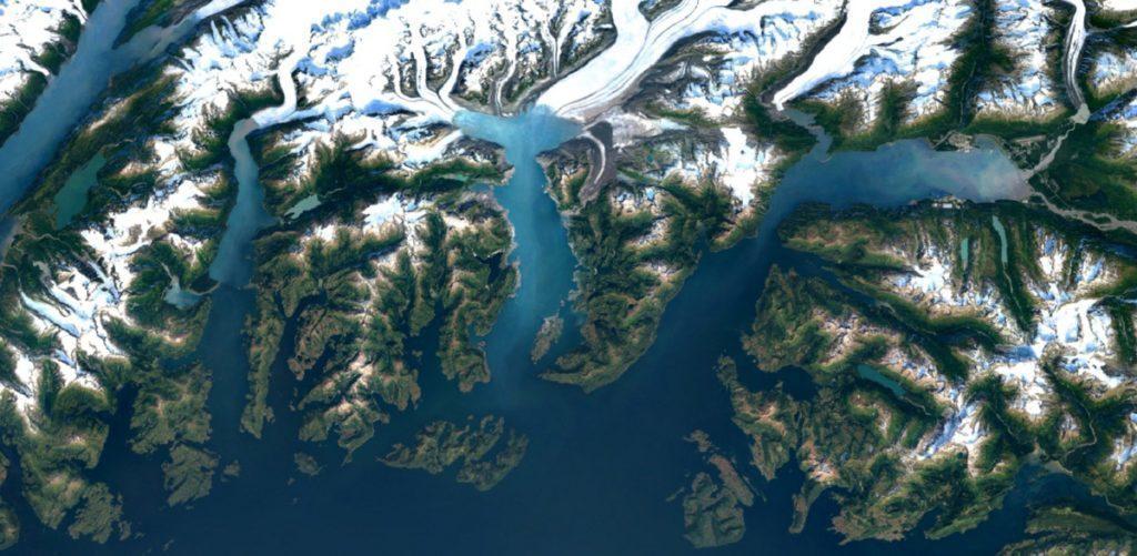 Columbia Glacier, Aljaška