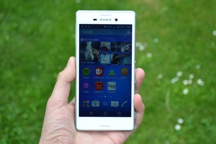 Sony Xperia M4 Aqua - displej