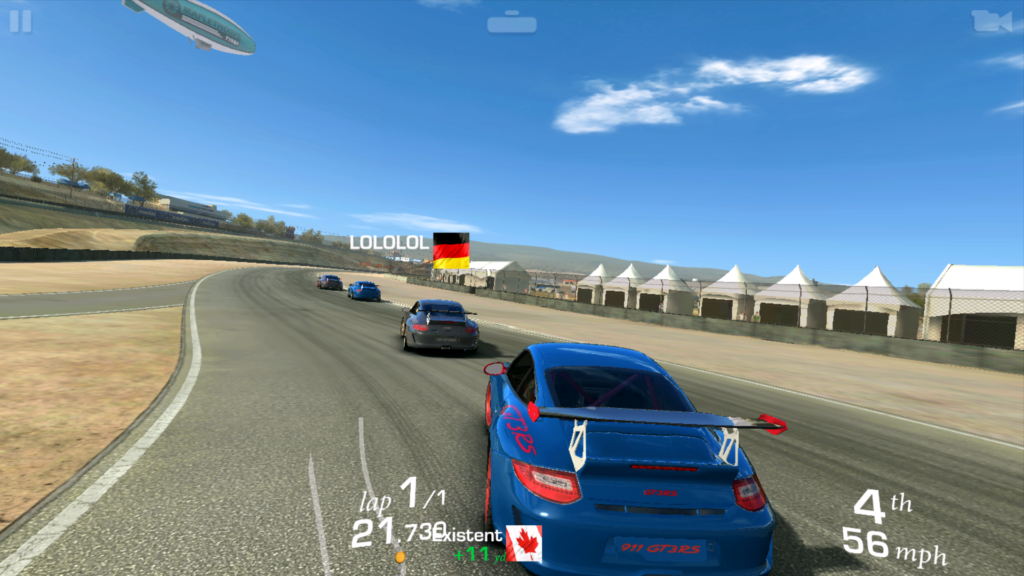 Sony Xperia X Real Racing 3