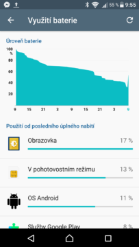 Sony Xperia X baterie