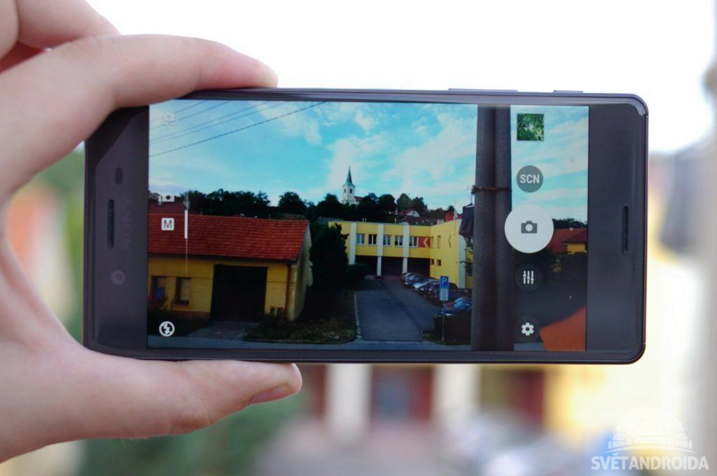 Sony Xperia X fotoaparát