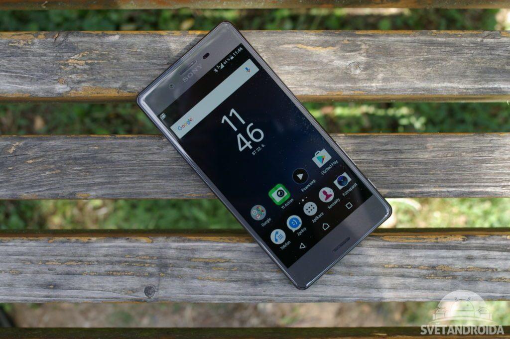 Sony Xperia X přední strana