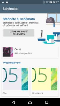 Sony Xperia X schémata