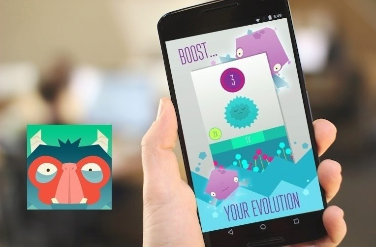 evoluce nová android hra