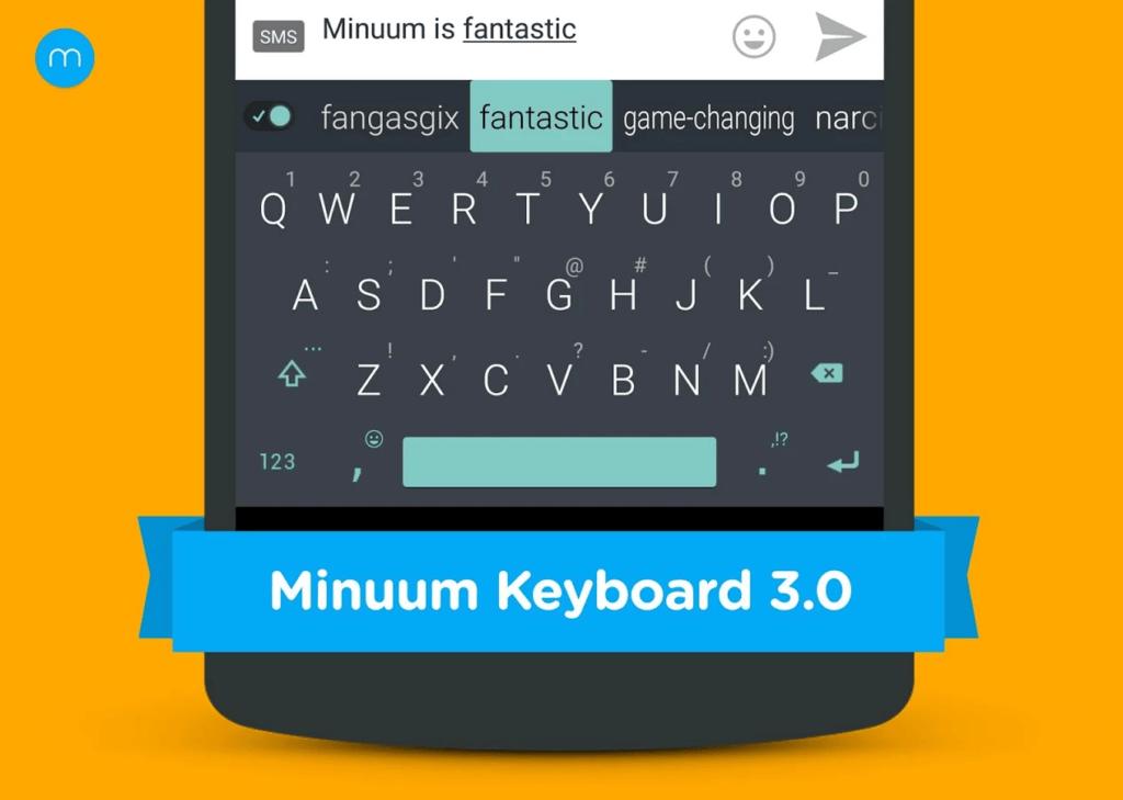Poslední v dnešním přehledu klávesnic: Minuum Keyboard + Smart Emoji