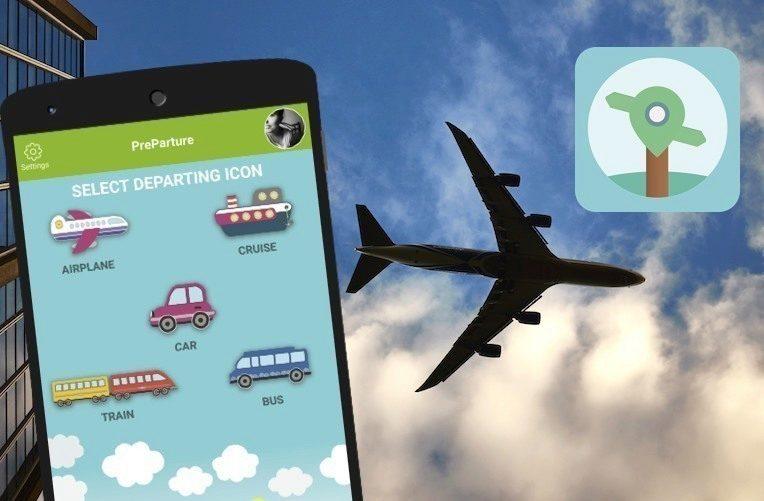 preparture android aplikace cestování