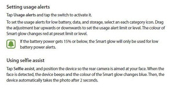 Návod k funkci Smart Glow
