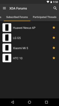 xda forum aplikace