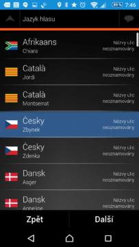 České hlasy