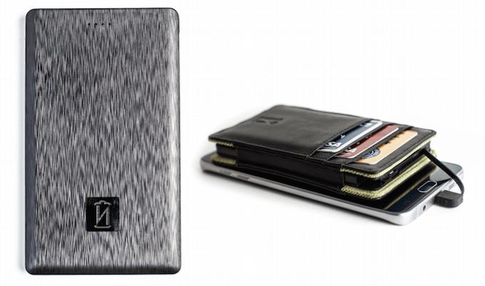 Součástí peněženek Power Wallet je akumulátor s kapacitou 4000 mAh