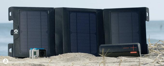 The Savior: vodotěsná solární nabíječka na cesty