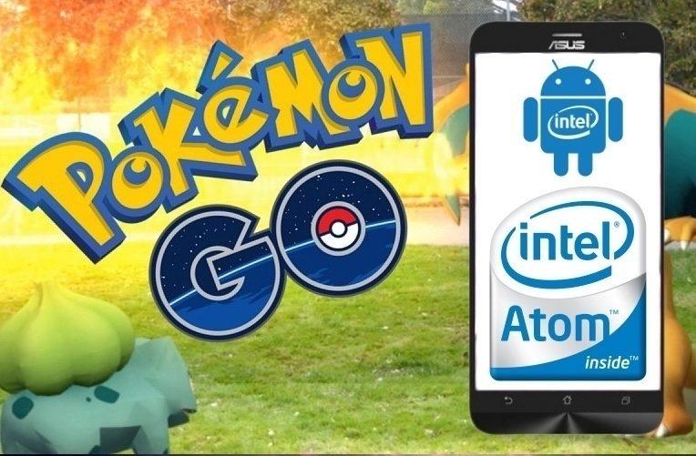 Aktualizace Pokemon Go - Intel