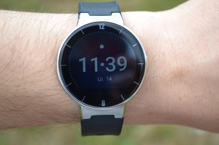 Alcatel OneTouch Watch - displej