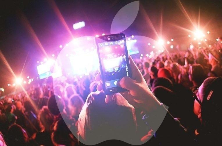 Apple – bude blokovat koncerty – náhleďák