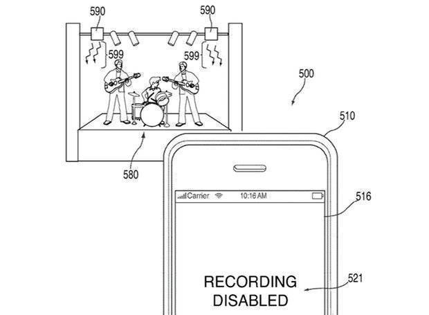Apple - patent koncerty