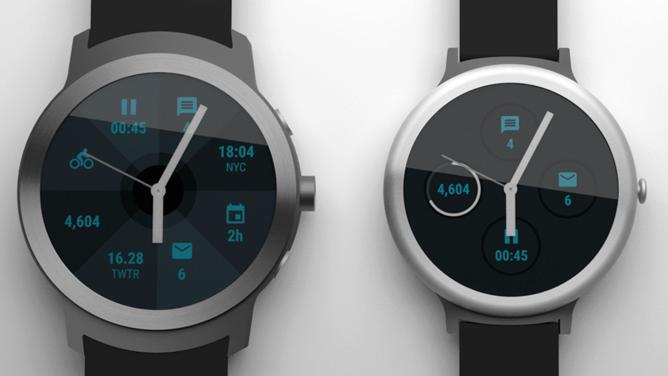 Google připravuje chytré hodinky - render 2