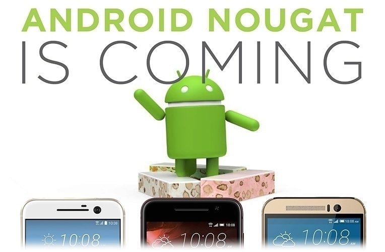 HTC Android Nougat